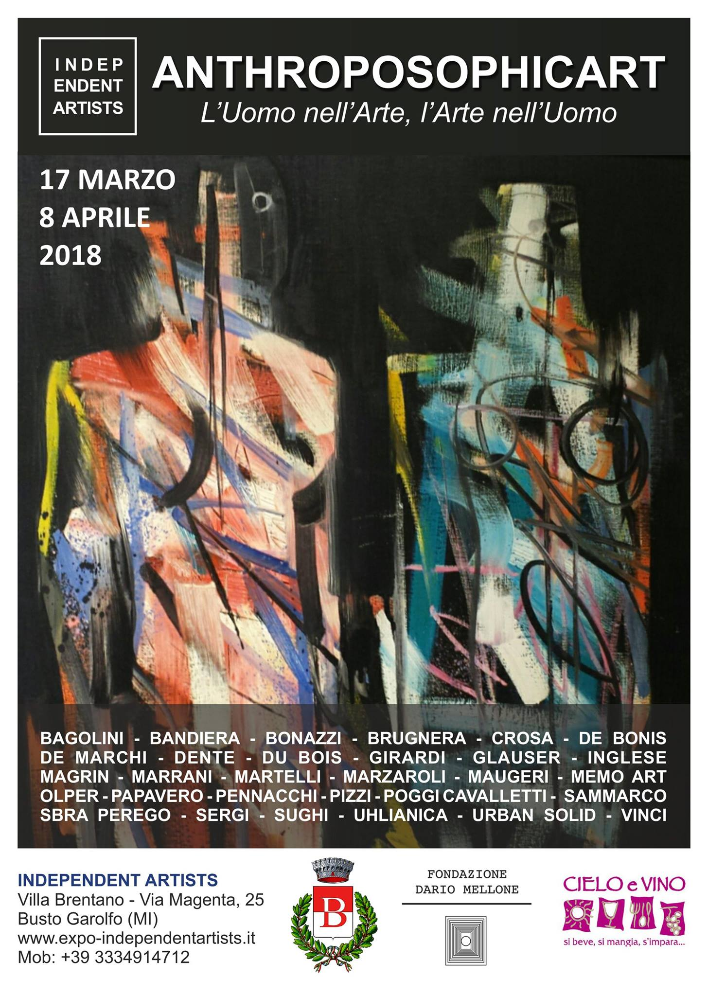Mostra Anthroposophicart - Villa Brentano